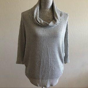 Laila Jayde Cowl Neck Sweater Blouse